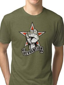 Up The Revolution! Tri-blend T-Shirt