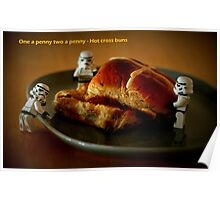 Hot cross buns Poster