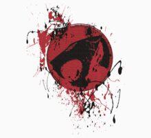Thundercats Tee Splatter by derekblawrence