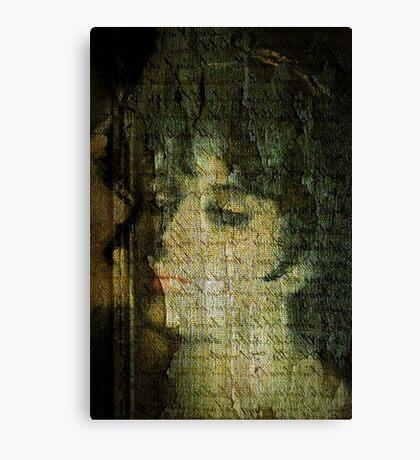 Old Canvas Portrait Canvas Print