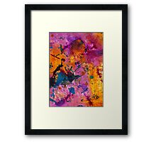 Inner Wisdom Spiced with JOY Framed Print