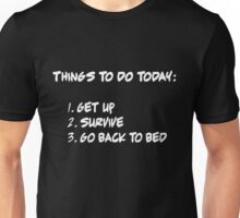 Thing To Do List Unisex T-Shirt