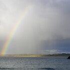 Coastal Rainbow by Barry Hobbs
