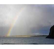 Coastal Rainbow Photographic Print