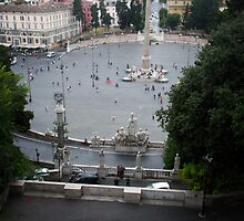"""The Piazza Di Popolo"" by Micah Samter"