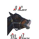 I Love My Horse! iPhone &amp; iPod Cases by Patricia Barmatz