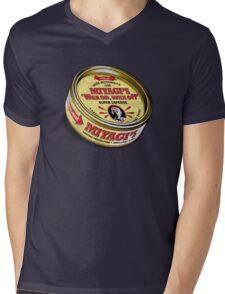 Super Wax Mens V-Neck T-Shirt