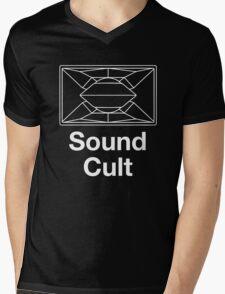 Sound Cult, Funktion One (White) Mens V-Neck T-Shirt