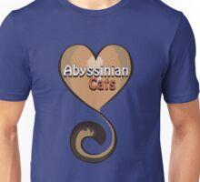Abyssinian Cat Love Unisex T-Shirt