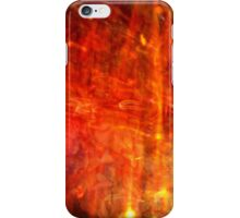 Vibrant autumn fire abstract  iPhone Case/Skin