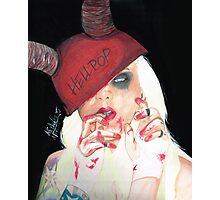 Hell Pop Barbie Photographic Print