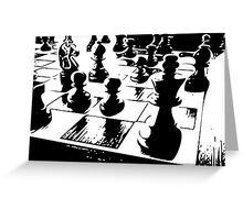 Chess gamer Greeting Card
