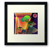 There must be an angle...... Framed Print