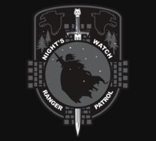 Snow Patrol- Game of Thrones Shirt by spacemonkeydr