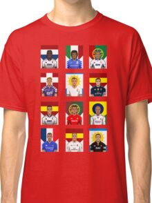 Real Madrid Legends Classic T-Shirt