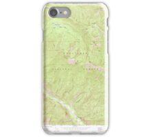 USGS Topo Map Washington State WA Brief 240230 1968 24000 iPhone Case/Skin