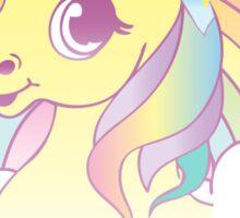 """Go To Hell"" Mean Unicorn (pastel) Sticker"
