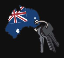 Keys to Australia  Kids Tee