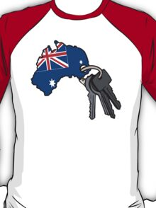 Keys to Australia  T-Shirt
