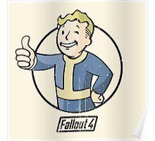 Vault Boy - Fallout 4 Poster