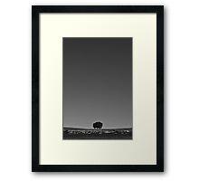 Solemn Serenity  Framed Print