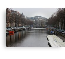The Amsterdam Canals Canvas Print