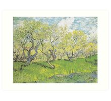 Orchard in Blossom by Vincent van Gogh Art Print