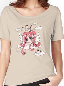 Kitty Heaven Women's Relaxed Fit T-Shirt