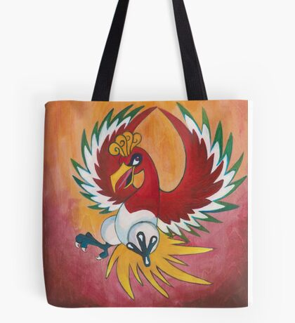 Pokemon Painting - Ho-oh Tote Bag