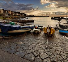 Boats after the storm  by Andrea Rapisarda
