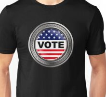 Your custom USA Button Unisex T-Shirt