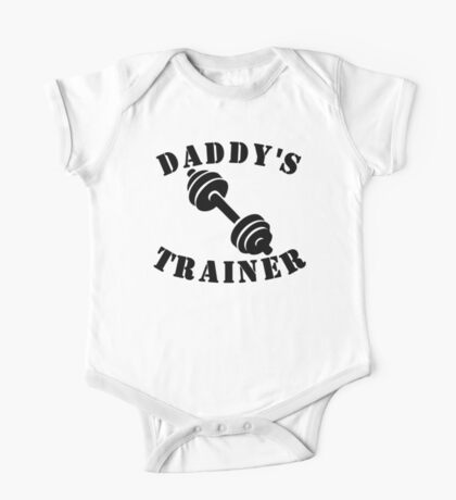 Daddy's Trainer One Piece - Short Sleeve