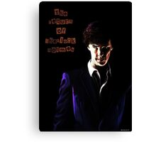 The return of Sherlock Holmes Canvas Print