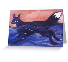 A Fox at Sea Greeting Card