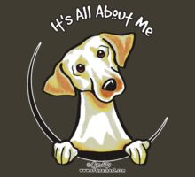 Yellow Lab :: Its All About Me by offleashart
