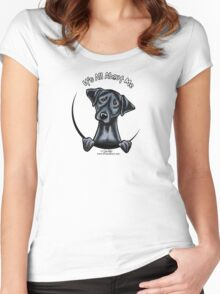 Black Lab :: Its All About Me Women's Fitted Scoop T-Shirt