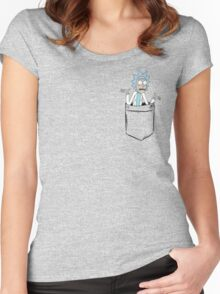 Rick Pocket Women's Fitted Scoop T-Shirt