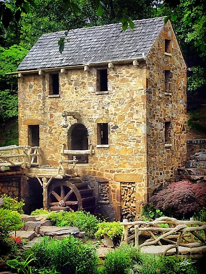 The Old Mill - Pugh's Mill 1832 by Gregory Ballos   gregoryballosphoto.com