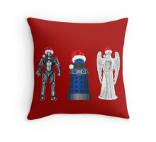 DW Christmas Throw Pillow