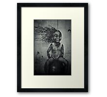 Bounce Framed Print
