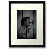 Provocation Framed Print