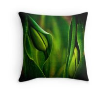 Baby Tulips Throw Pillow