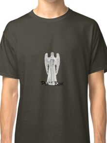 Don't Blink - DW Weeping Angels Classic T-Shirt