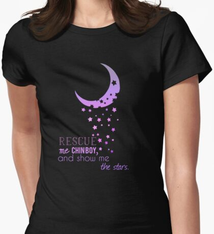 DW - Clara and Eleven Whouffle Womens Fitted T-Shirt