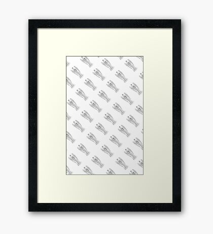 DW Weeping Angels  Framed Print