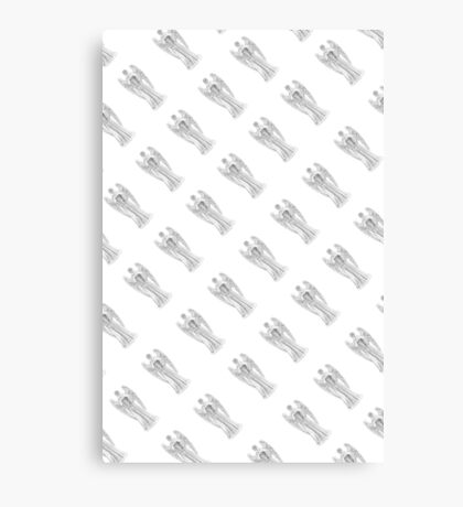 DW Weeping Angels  Canvas Print