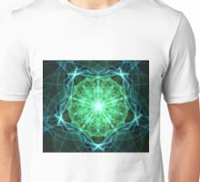 Electric Green Hibiscus Unisex T-Shirt