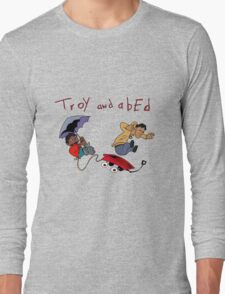 Troy and Abed Falling Long Sleeve T-Shirt