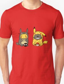 Totoro and Pikachu Onesies T-Shirt