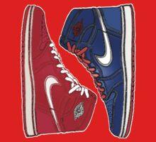 AIR JORDAN 1 RETRO: RED MEETS BLUE Kids Clothes